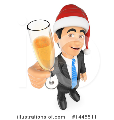 Royalty-Free (RF) Business Man Clipart Illustration by Texelart - Stock Sample #1445511