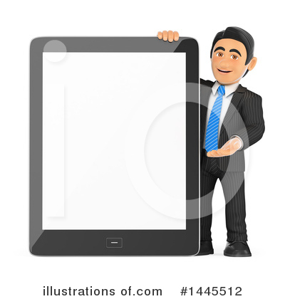 Tablet Computer Clipart #1445512 by Texelart