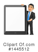 Business Man Clipart #1445512 by Texelart