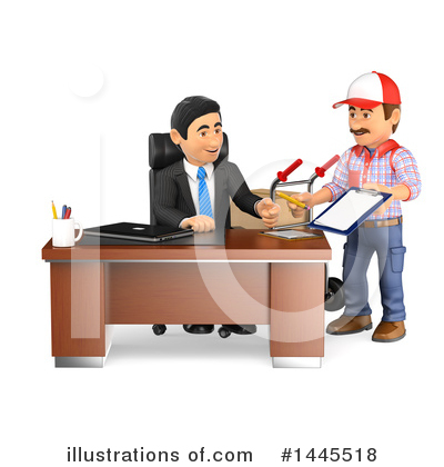 Worker Clipart #1445518 by Texelart