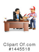 Business Man Clipart #1445518 by Texelart