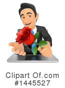 Business Man Clipart #1445527 by Texelart