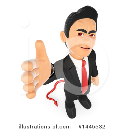 Royalty-Free (RF) Business Man Clipart Illustration by Texelart - Stock Sample #1445532