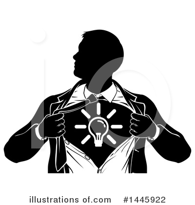 Super Hero Clipart #1445922 by AtStockIllustration