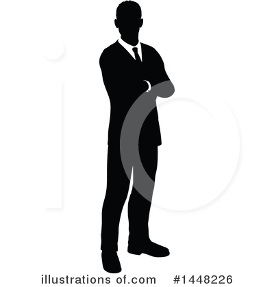 Businessman Clipart #1448226 by AtStockIllustration