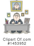 Business Man Clipart #1453952 by Alex Bannykh