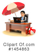 Royalty-Free (RF) Business Man Clipart Illustration #1454863