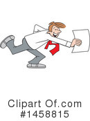 Business Man Clipart #1458815 by Johnny Sajem