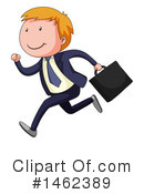 Business Man Clipart #1462389 by Graphics RF