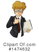 Business Man Clipart #1474632 by Graphics RF