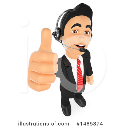 Call Center Clipart #1485374 by Texelart