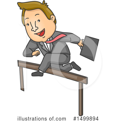Jumping Clipart #1499894 by BNP Design Studio