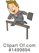 Business Man Clipart #1499894 by BNP Design Studio
