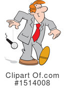 Business Man Clipart #1514008 by Johnny Sajem