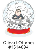 Royalty-Free (RF) Business Man Clipart Illustration #1514894