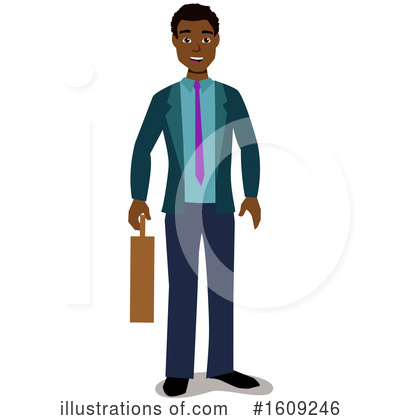 Business Man Clipart #1609246 by peachidesigns