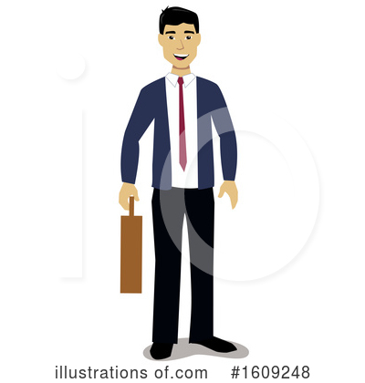 Business Man Clipart #1609248 by peachidesigns