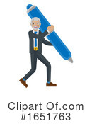 Business Man Clipart #1651763 by AtStockIllustration
