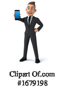 Business Man Clipart #1679198 by Julos