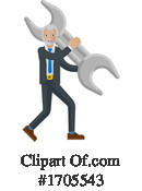 Business Man Clipart #1705543 by AtStockIllustration