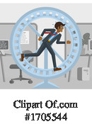 Business Man Clipart #1705544 by AtStockIllustration