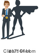 Business Man Clipart #1714444 by AtStockIllustration