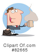 Royalty-Free (RF) business man Clipart Illustration #82665