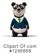 Business Panda Clipart #1295658 by Julos