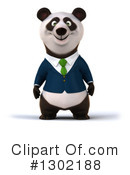 Business Panda Clipart #1302188