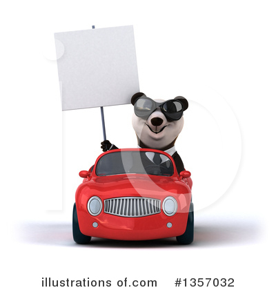 Business Panda Clipart #1357032 by Julos