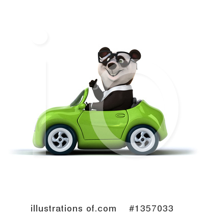 Business Panda Clipart #1357033 by Julos