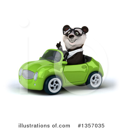 Business Panda Clipart #1357035 by Julos