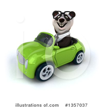 Business Panda Clipart #1357037 by Julos