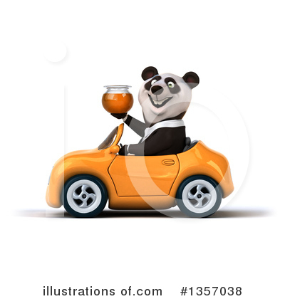 Business Panda Clipart #1357038 by Julos