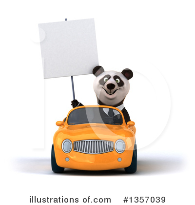 Business Panda Clipart #1357039 by Julos
