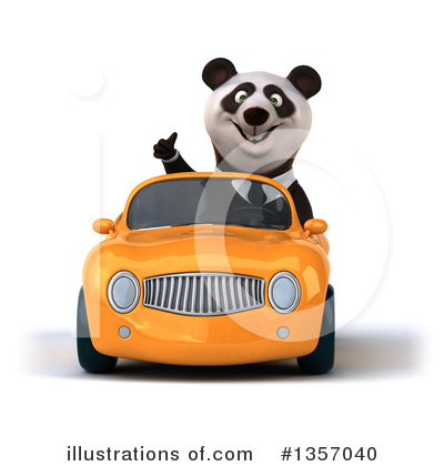 Business Panda Clipart #1357040 by Julos