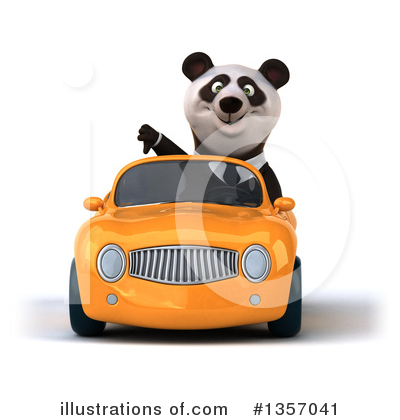 Business Panda Clipart #1357041 by Julos