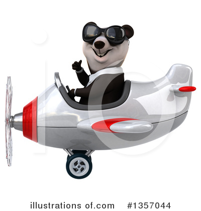 Business Panda Clipart #1357044 by Julos