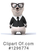 Business Polar Bear Clipart #1296774 by Julos