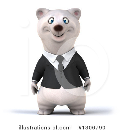 Polar Bear Clipart #1306790 by Julos