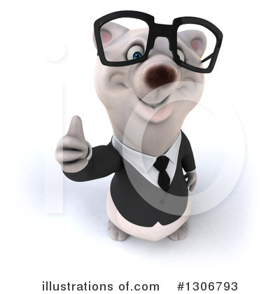 Business Polar Bear Clipart #1306793 by Julos