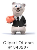 Business Polar Bear Clipart #1340287 by Julos