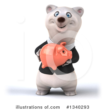 Business Polar Bear Clipart #1340293 by Julos