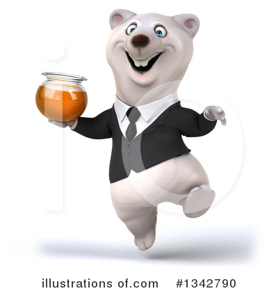 Business Polar Bear Clipart #1342790 by Julos