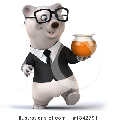 Business Polar Bear Clipart #1342791 by Julos