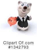 Business Polar Bear Clipart #1342793 by Julos