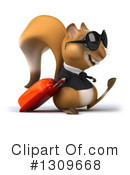 Business Squirrel Clipart #1309668 by Julos