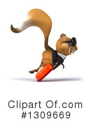 Business Squirrel Clipart #1309669 by Julos
