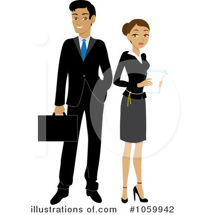 Couple Clipart #1059942 by Rosie Piter