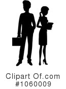 Royalty-Free (RF) business team Clipart Illustration #1060009